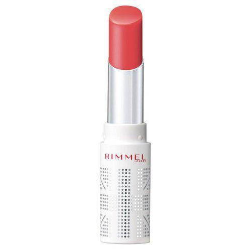リンメルのラスティングフィニッシュ ティントリップ 002 唇に溶け込むようになじむピーチピンク 3.8gに関する画像1
