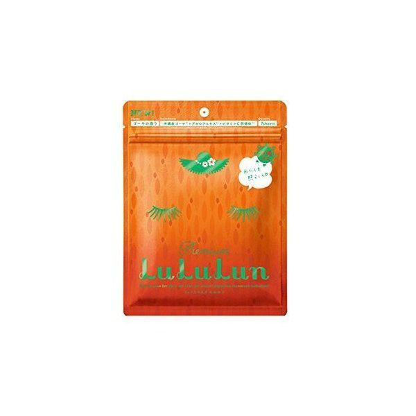 ルルルンの【沖縄限定】ルルルン プレミアム フェイスマスク「アセロラの香り」7枚入×1袋に関する画像1