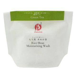 まかないこすめ まかないこすめ Makanai Cosmetics  もち肌米ぬか袋(緑茶) 27gの画像