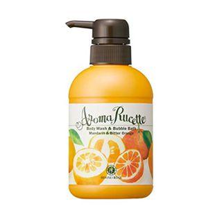 ハウス オブ ローゼ ハウスオブローゼ HOUSE OF ROSE アロマルセット ボディウォッシュ&バブルバス MD&BO(マンダリン&ビターオレンジの香り) 本体 350ml マンダリン&ビターオレンジの香りの画像