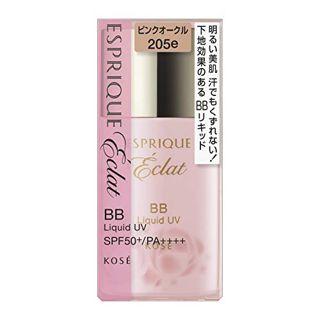 エスプリーク エスプリーク ESPRIQUE エクラ 明るさ持続 BBリキッド UV SPF50 PA++++ PO205e ピンクオークル 30g 無香料の画像