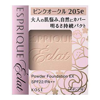 エスプリーク エスプリーク ESPRIQUE エクラ 明るさ持続 パクト EX SPF22 PA++ PO205e ピンクオークル 9.3g 無香料の画像