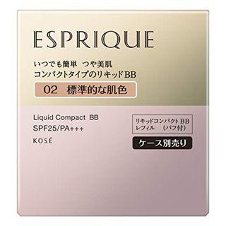 エスプリーク エスプリーク ESPRIQUE リキッド コンパクト BB SPF25 PA+++ 02 標準的な肌色 13g 無香料の画像