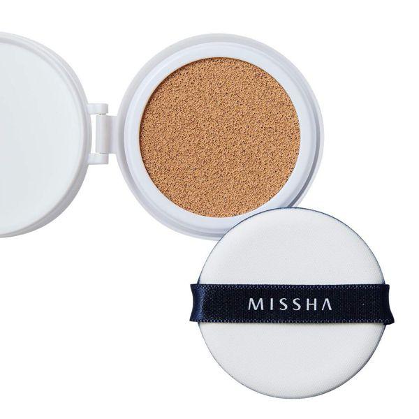 ミシャのミシャ M クッション ファンデーション No.23 自然な肌色 マット 【レフィルのみ】 15g SPF50+ PA+++に関する画像1