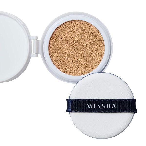 ミシャのミシャ M クッション ファンデーション No.21 明るい肌色 マット 【レフィルのみ】 15g SPF50+ PA+++に関する画像1
