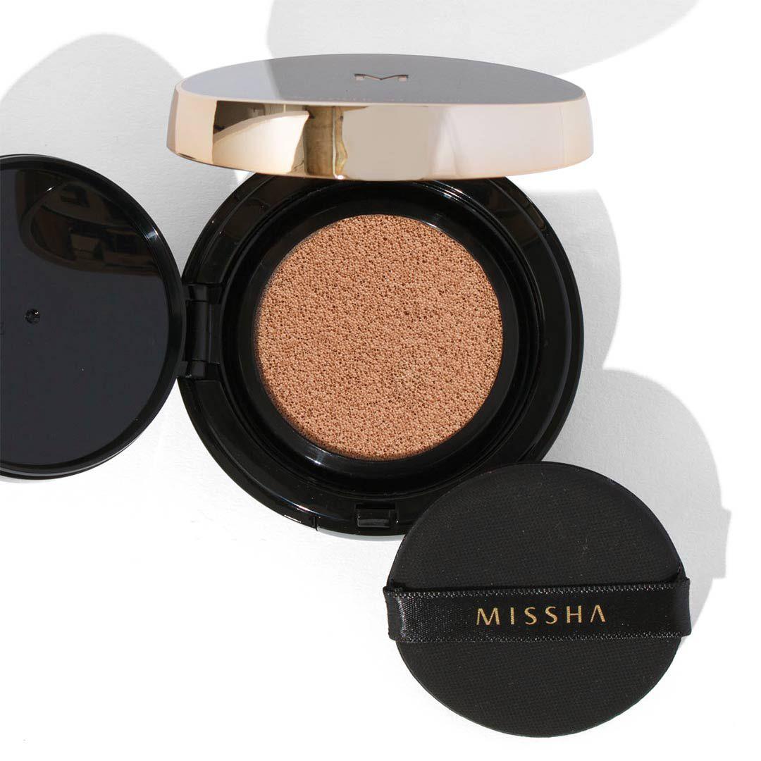 ミシャのミシャ M クッション ファンデーション No.23 自然な肌色 プロカバー 15g SPF50+ PA+++に関する画像 1