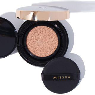 MISSHA ミシャ M クッション ファンデーション No.21 明るい肌色 プロカバー 15g SPF50+ PA+++の画像