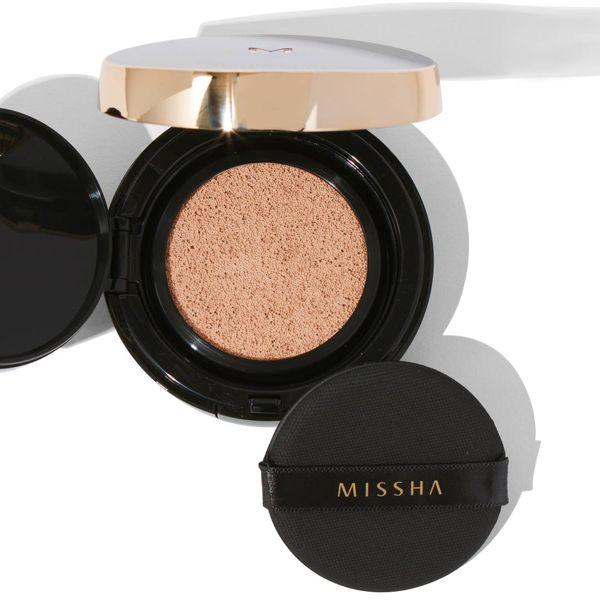 ミシャのミシャ M クッション ファンデーション No.21 明るい肌色 プロカバー 15g SPF50+ PA+++に関する画像1