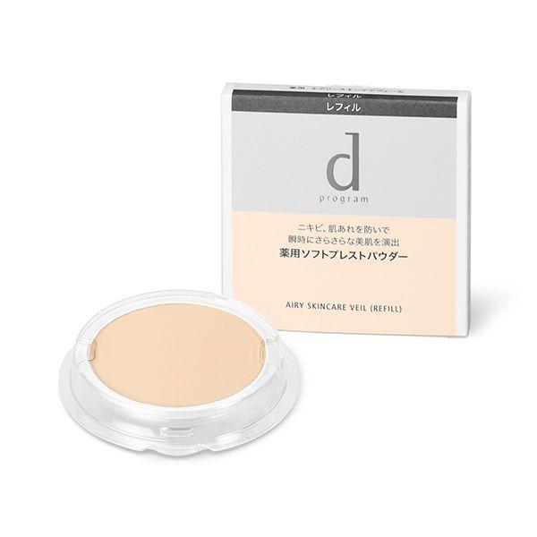 d プログラム 薬用 エアリースキンケアヴェール リフィル 10g 無香料のバリエーション1