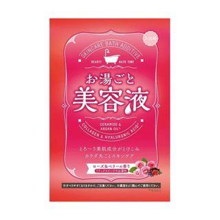 お湯ごと美容液 お湯ごと美容液 ローズ&ベリーの香り 60gの画像