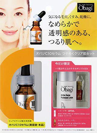 オバジ 数量限定Obagi(オバジ) オバジC10セラム つやめくクリア肌セット ロート製薬の画像