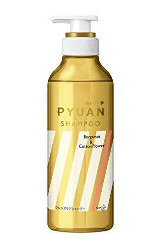 null メリット merit PYUANスマート&スタイリッシュシャンプー シャンプー本体 425ml ベルガモット&コットンフラワーの香りの画像
