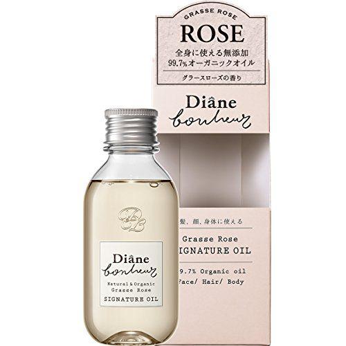 モイスト・ダイアン Moist Diane ダイアン ボヌール ヘア&ボディオイル グラースローズの香り 100mlのバリエーション1