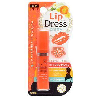 null 近江兄弟社 リップドレス キャンディオレンジ 3.6gの画像