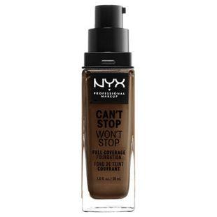 NYX NYX Professional Makeup(ニックス) キャントストップ ウォントストップ フルカバレッジ ファンデーション 22 カラー・ ディープ クール 30ml の画像 0
