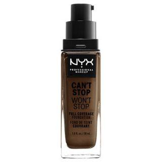 NYX NYX Professional Makeup(ニックス) キャントストップ ウォントストップ フルカバレッジ ファンデーション 22 カラー・ ディープ クール 30mlの画像