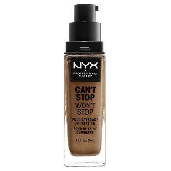 NYXのNYX Professional Makeup(ニックス) キャントストップ ウォントストップ フルカバレッジ ファンデーション 16 カラー・ マホガニー 30mlに関する画像 1