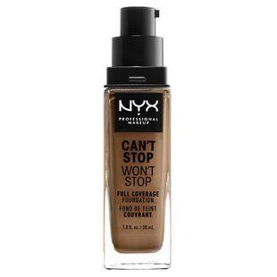 NYX NYX Professional Makeup(ニックス) キャントストップ ウォントストップ フルカバレッジ ファンデーション 16 カラー・ マホガニー 30ml の画像 0