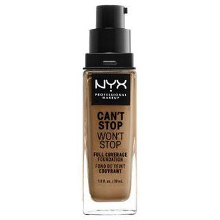 null NYX Professional Makeup(ニックス) キャントストップ ウォントストップ フルカバレッジ ファンデーション 12.7 カラー・ ニュートラル タン 30mlの画像