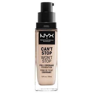null NYX Professional Makeup(ニックス) キャントストップ ウォントストップ フルカバレッジ ファンデーション 1.3 カラー・ ライト ポーセリン 30mlの画像