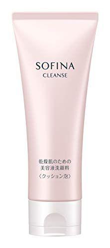 ソフィーナ ソフィーナ SOFINA 乾燥肌のための美容液洗顔料<クッション泡> ほのかな花優甘(はなゆうか)の香りの画像
