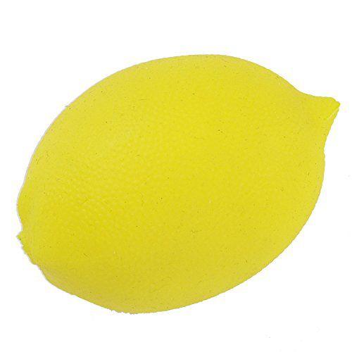 アルインコのアルインコ フルーツハンドグリップ ソフトレモン 本体に関する画像 1
