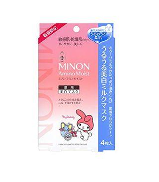 ミノン ミノン MINON アミノモイスト うるうる美白ミルクマスク マイメロ限定コラボ 4枚の画像
