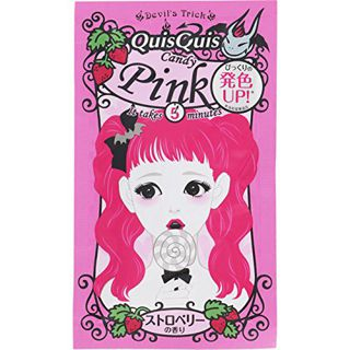 クイスクイス クイスクイス QuisQuis デビルズトリック 本体 キャンディピンク 25g ストロベリーの香りの画像