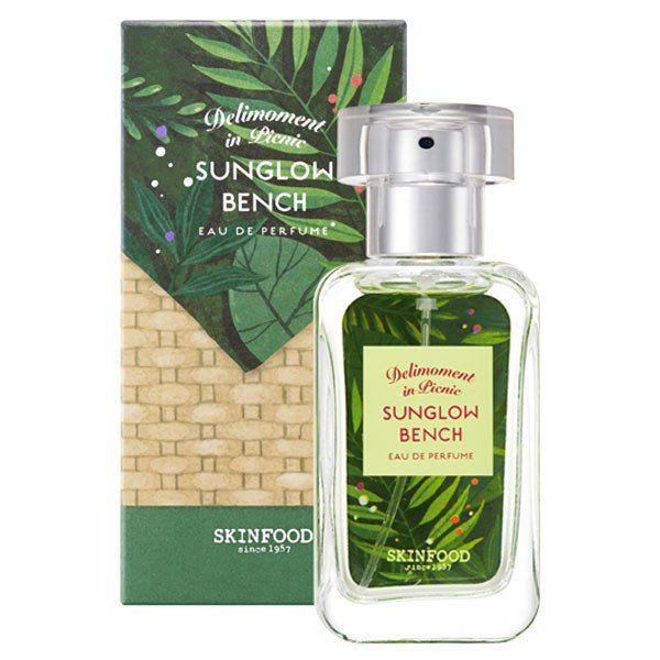 スキンフードのスキンフード SKINFOOD デリモメント イン ピクニック オードパフューム サングロウベンチ 本体 30ml 爽やかな風のようなフレッシュグリーンの香りに関する画像 1