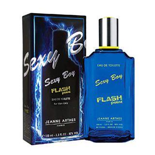 ジャンヌ・アルテス ジャンヌアルテス JEANNE ARTHES セクシーボーイ フラッシュポイント EDT・SP 100ml 香水 フレグランス SEXY BOY FLASH POINTの画像