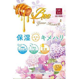 DR.JOU DR.JOU 花蜜11種類アミノ酸 保湿×キメハリシートマスク 本体 5枚入りの画像