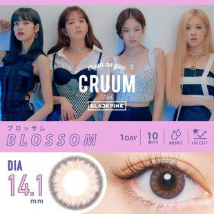 CRUUM クルーム ワンデー 10枚/箱(度なし) ブロッサム の画像 0