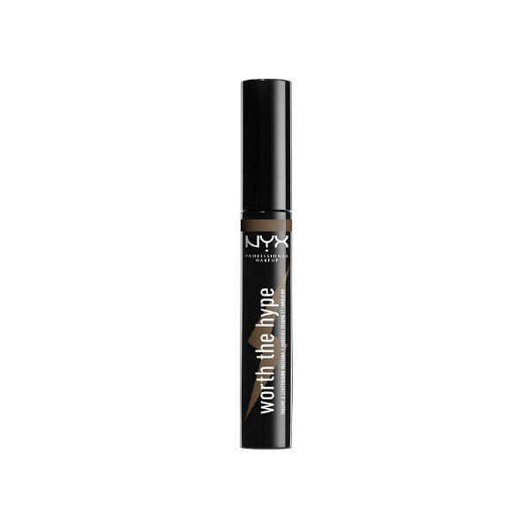 ロレアル パリのNYX Professional Makeup(ニックス) ワース ザ ハイプ マスカラ 02 カラー・ブラウニッシュ ブラック 7mlに関する画像 1