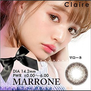 クレア Claire クレア マローネ カラコン カラーコンタクトレンズ 1箱10枚入 ワンデイ デイリーの画像