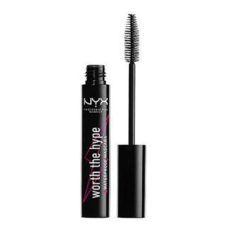 NYX NYX Professional Makeup(ニックス) ワース ザ ハイプ ウォータープルーフ マスカラ 01 カラー・ブラック 7mLの画像