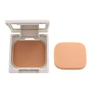 エルシア エルシア プラチナム ホワイトニング ファンデーション SPF26 PA++ 本体 415 オークル やや暗めの自然な肌色 9.3g 無香料の画像