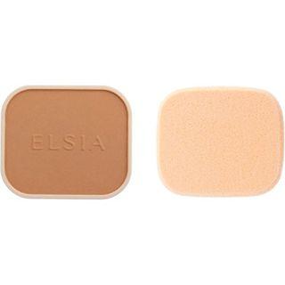 エルシア エルシア プラチナム 化粧のり良好 モイストファンデーション SPF22 PA++ リフィル 415 オークル やや暗めの自然な肌色 9.3g 無香料の画像