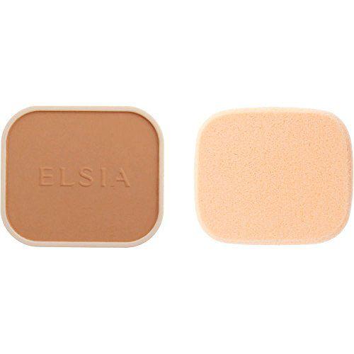 エルシアのエルシア プラチナム 化粧のり良好 モイストファンデーション SPF22 PA++ リフィル 415 オークル やや暗めの自然な肌色 9.3g 無香料に関する画像1