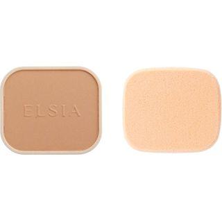 エルシア エルシア プラチナム 化粧のり良好 モイストファンデーション SPF22 PA++ リフィル 410 オークル 普通の明るさの自然な肌色 9.3g 無香料の画像
