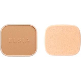 エルシア エルシア プラチナム 化粧のり良好 モイストファンデーション SPF22 PA++ リフィル 405 オークル やや明るい自然な肌色 9.3g 無香料の画像