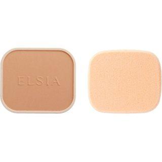 エルシア エルシア プラチナム 化粧のり良好 モイストファンデーション SPF22 PA++ リフィル 205 ピンクオークル やや明るい赤みよりの肌色 9.3g 無香料の画像