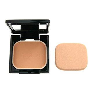 エルシア エルシア プラチナム 化粧のり良好 モイストファンデーション SPF22 PA++ 本体 415 オークル やや暗めの自然な肌色 9.3g 無香料の画像