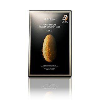 JMsolution JMソリューション ウォーター ルミナス ゴールデン コクーン マスク ブラック 45g × 10枚 の画像