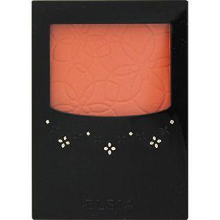 エルシア エルシア プラチナム 明るさ & 血色アップ チークカラー 本体 OR200 オレンジ系 3.5g 無香料の画像