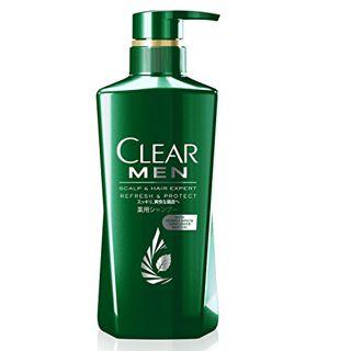 CLEAR クリア CLEAR フォーメンリフレッシュ・プロテクト薬用シャンプー シャンプー本体 350gの画像
