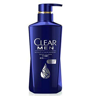 CLEAR クリア CLEAR フォーメンディープクリーン薬用シャンプー シャンプー本体 350gの画像