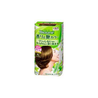 ブローネ ブローネ 香りと艶カラー 本体 【4H】ハニーブラウン 40g(1剤)+40g(2剤)の画像