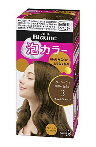 ブローネ ブローネ 泡カラー 本体 【3】明るいライトブラウン 108mlの画像