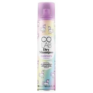 null COLAB DryShampoo ドライシャンプー UNICORN 200ml プラム&バニラの魅惑的な香りの画像