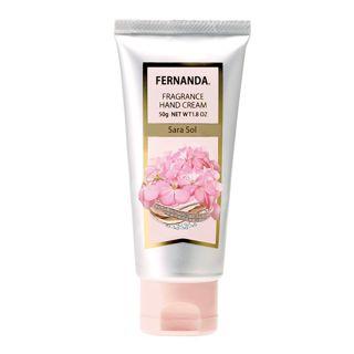 フェルナンダ フレグランスハンドクリーム サラソール 50gの画像